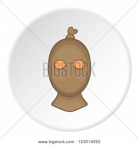 Robber icon. Flat illustration of robber vector icon for web