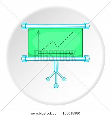 Graphic icon. Flat illustration of graphic vector icon for web