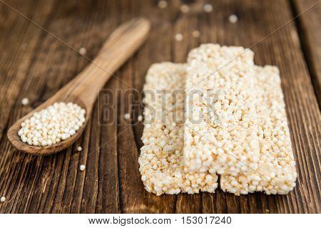 Quinoa Bars
