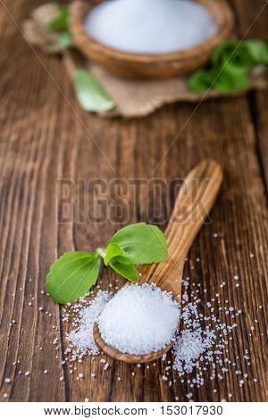 Stevia (as Granular; Selective Focus)