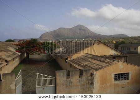 Concentration Camp on Tarrafal, Santiago Island, Cabo Verde