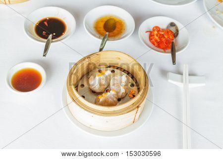 Steamed Shrimp Fun Goh Dumpling