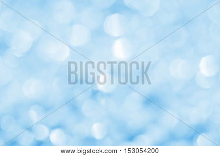 Blue indistinct background for design and cards