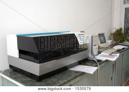 Medical Equipment For Analysis
