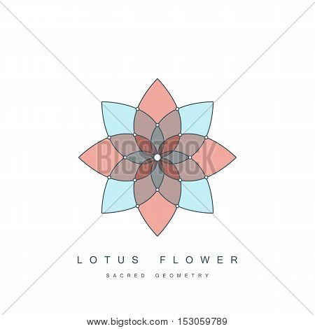 Flower life sacred vector photo free trial bigstock flower of life sacred geometry lotus flower mandala ornament esoteric or spiritual mightylinksfo