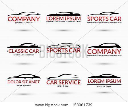 set modern car logo vector photo free trial bigstock