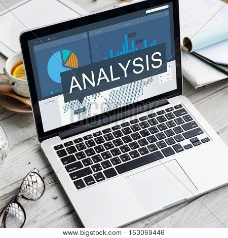 Accounting Analysis Business Graphic Success Concept