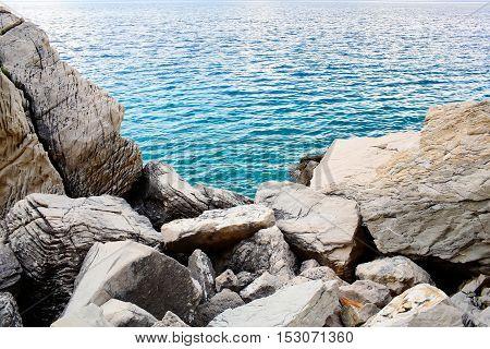 Blue Sea Or Ocean Coast