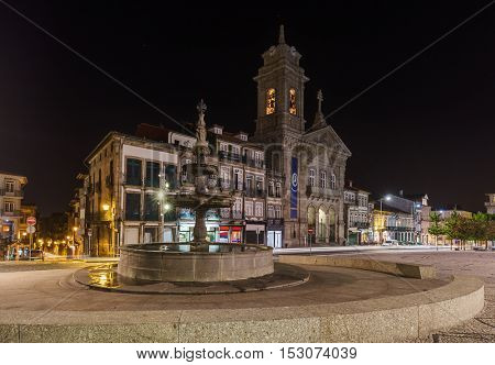 Town Guimaraes - Portugal - architecture background