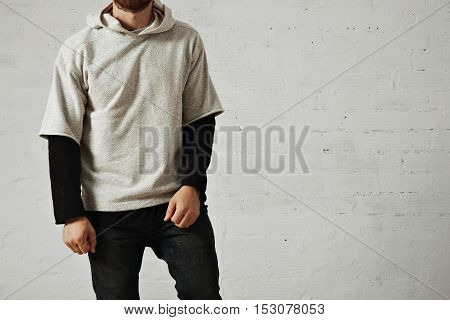 Man In A Gray Sweatshirt