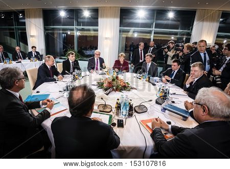 Meeting In Normandy Format In Berlin