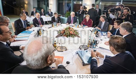 Meeting In Normandy Format In Berlin