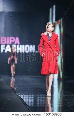 Bipa Fashion.hr Fashion Show: Elfs, Zagreb, Croatia.