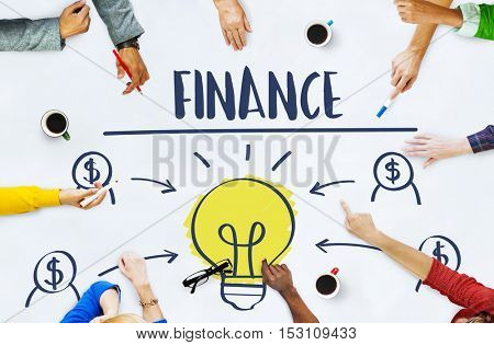 Finance Joint Planning Balance Banking Budget Concept