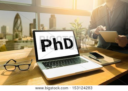 Phd Doctor Of Philosophy Degree Education Graduation