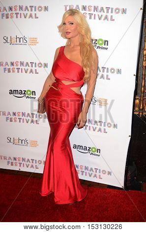 LOS ANGELES - OCT 22:  Cassandra Cass at the TransNation Miss Queen USA Pageant at Ace Hotel on October 22, 2016 in Los Angeles, CA