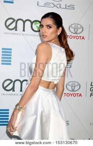 LOS ANGELES - OCT 22:  Blanca Blanco at the 26th Annual Environmental Media Awards at Warner Brothers Studio on October 22, 2016 in Burbank, CA