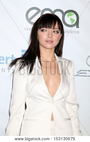 LOS ANGELES - OCT 22:  Francesca Eastwood at the 26th Annual Environmental Media Awards at Warner Brothers Studio on October 22, 2016 in Burbank, CA