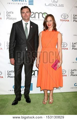 LOS ANGELES - OCT 22:  Guest, Liz Goldwyn at the 26th Annual Environmental Media Awards at Warner Brothers Studio on October 22, 2016 in Burbank, CA