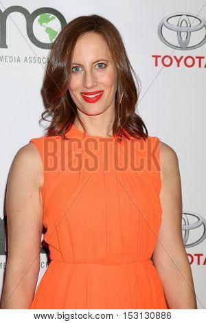 LOS ANGELES - OCT 22:  Liz Goldwyn at the 26th Annual Environmental Media Awards at Warner Brothers Studio on October 22, 2016 in Burbank, CA