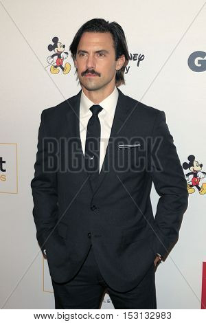 LOS ANGELES - OCT 21:  Milo Ventimiglia at the 2016 GLSEN Respect Awards at Beverly Wilshire Hotel on October 21, 2016 in Beverly Hills, CA