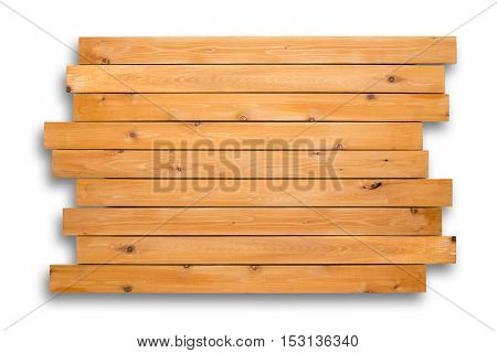 Cedar Wood Background Of Staggered Boards