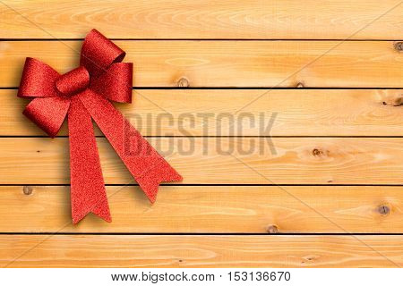 Stylish Festive Red Christmas Ribbon