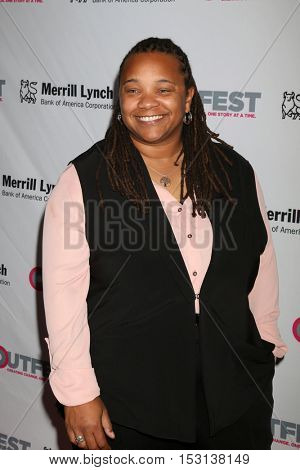 LOS ANGELES - OCT 23:  Tina Mabry at the 2016 Outfest Legacy Awards at Vibiana on October 23, 2016 in Los Angeles, CA
