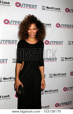 LOS ANGELES - OCT 23:  Sherri Saum at the 2016 Outfest Legacy Awards at Vibiana on October 23, 2016 in Los Angeles, CA