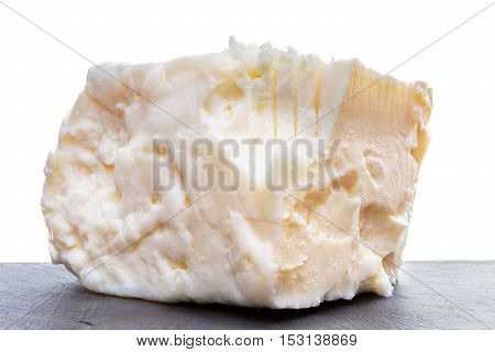 Close Up On Full Fat Feta Cheese
