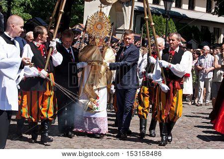Corpus Christi In Lowicz 6