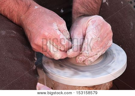 Hardworking Hands Of The Potter 1