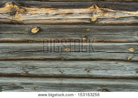 Old weathered wood planks. Vintage texture Background.