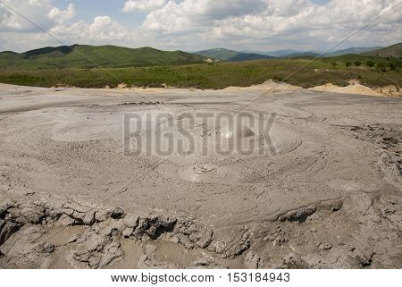 Muddy Volcanoes Reservation In Romania - Buzau - Berca