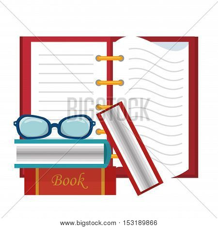 book education isolated icon vector illustration design