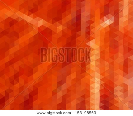Multicolor red orange  geometric rumpled background. Low poly style gradient illustration. Graphic background.