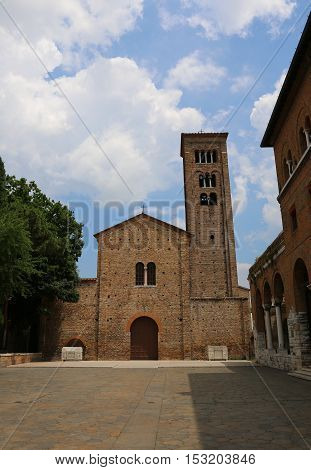 Church Dedicated To St. Francis Of Assisi In Ravenna In Italy Ce