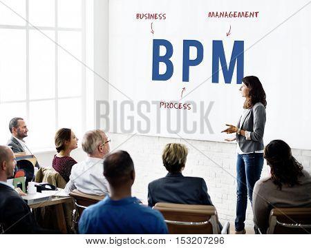 BPM Business Company Strategy Marketing Concept