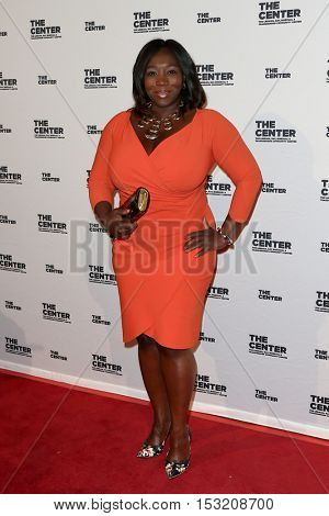 NEW YORK-APR 2: TV Personality Bevy Smith attends the 2015 Center Dinner at Cipriani Wall Street on April 2, 2015 in New York City.