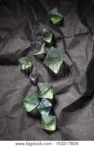 Flourite mineral specimen. The beauty geology nature