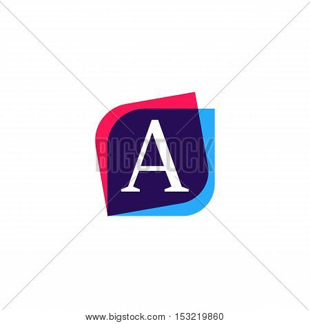 A letter logo sign symbol element icon vector design