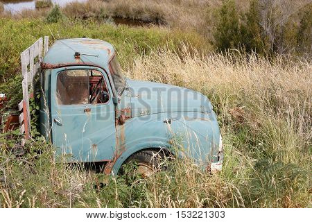 Old Truck In Grass