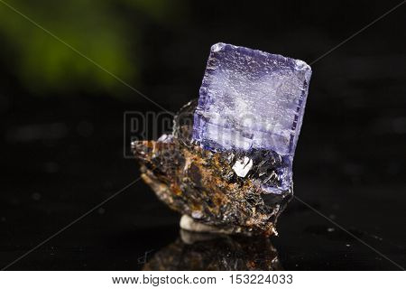 Flourite mineral specimen , the beauty geology