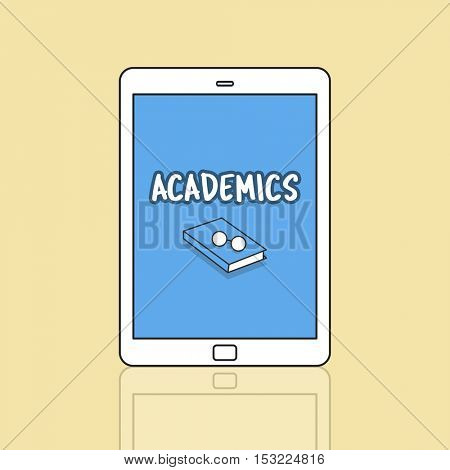 Academics Connection Digital Device Tablet Concept