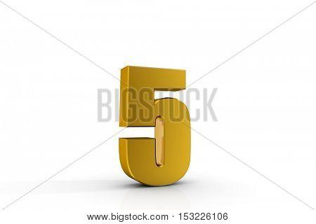3d illustration number 5