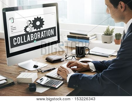 Leadership Partnership Collaboration Team Concept