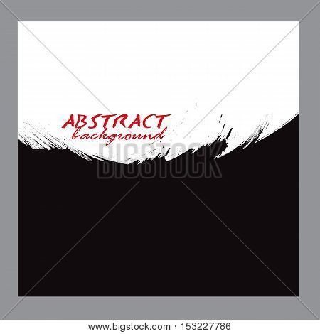 abstract background Water color background paintbrush black