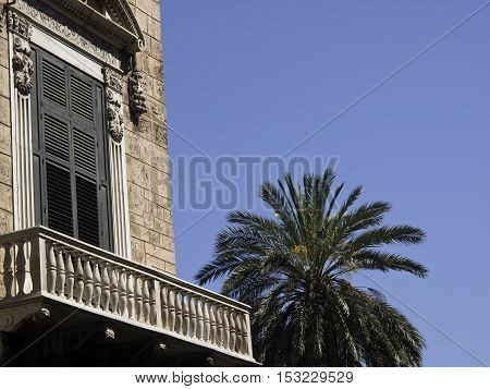 the sicilian City of Palermo in italy