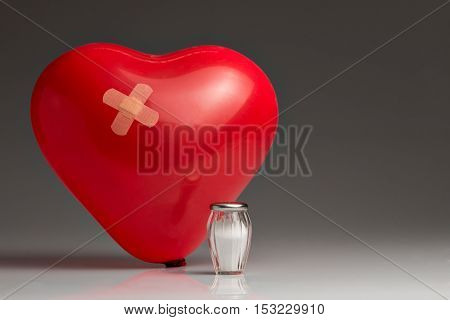Hypertension, Red Balloon Heart