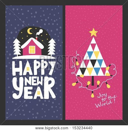 Holiday cards - Merry Christmas and Happy New Year!